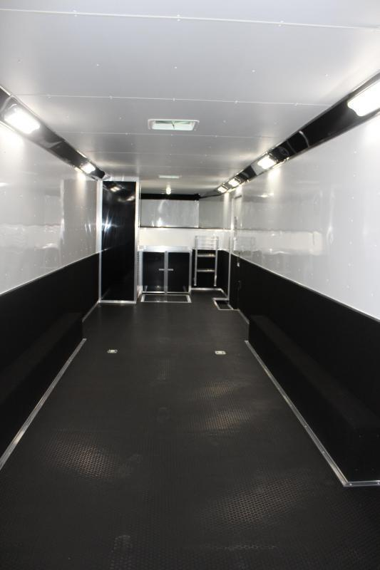 <b>IN PROCESS SPECIAL</b> 44' 2022 Millennium Extreme Gooseneck w/Tapered Nose Spread Axle Black Cabs