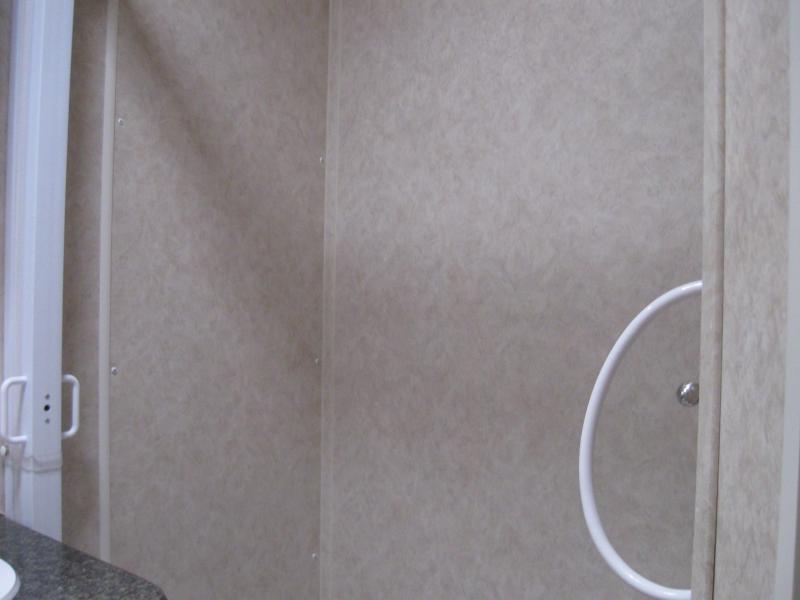 <b>READY 9/3 SMALL DEPOSIT HOLDS</b>  2021 40' Millennium Silver Enclosed Gooseneck Trailer w/12' Sofa Living Quarters/King Size Bath