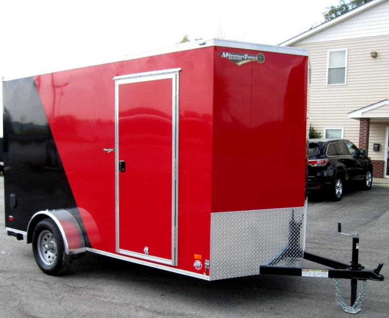 6'x12' Scout Cargo Trailer Plus Pkg & Free Upgrades 6 Extra High