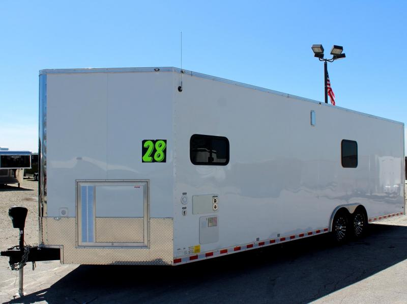 28' Millennium Auto Master Toy Hauler Tons of Options Added!