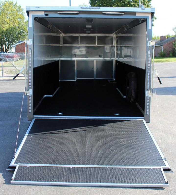 <b>SOLD & MAKING MORE</b> 28' Millennium Extreme 6K Spread Axles/ Met. Charcoal Cabinets/Electric Jack