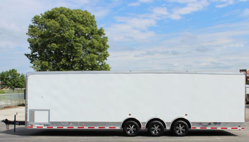 """NEW ARRIVAL  2021 32' Millennium Auto Master Car Trailer w/12"""" Extra Height"""
