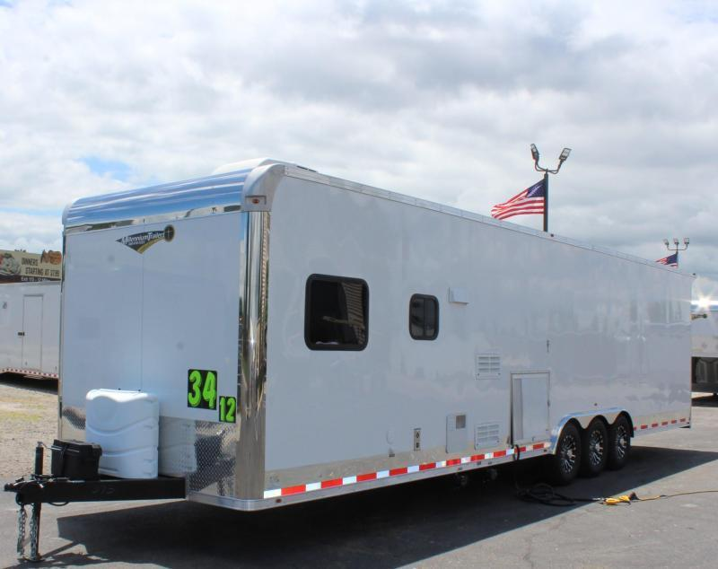 """<b>IN PROCESS SPECIAL</b> 2022 34' Millennium 12'XE Living Quarters 21' 6"""" Cargo Area & 12"""" Ext High"""