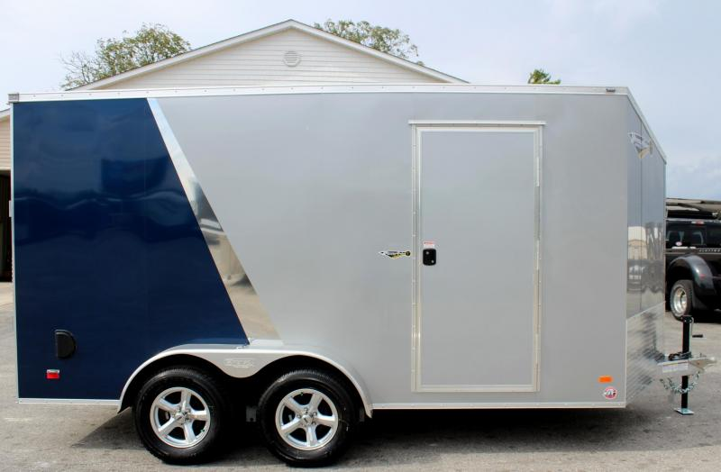 "ALL ALUMINUM 7'x14' Scout Cargo with Super Saver Pkg. 6"" Extra High Alum Wheels PLUS Free Upgrades"