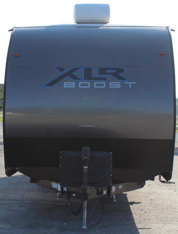 <b>TOY HAULER TRAVEL TRAILER SPECIAL! LIKE NEW! </b> 2021 Forest River XLR Boost 27QB