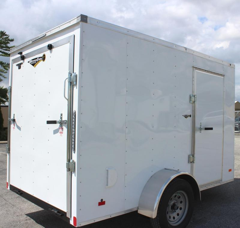 6'x10' Hero Economy Cargo Trailer w/Ramp Door