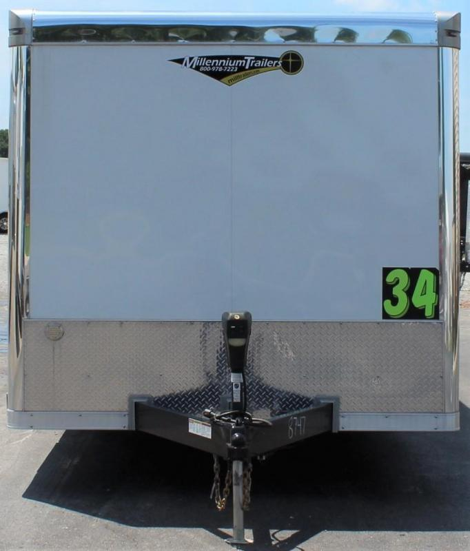 NOW READY 2021 34' Millennium Extreme Spread Axle/Wing/Loaded