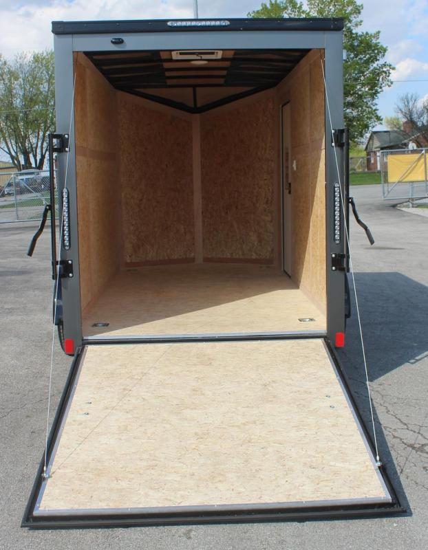 """<b>Black-Out Pkg</b>  6' x 12' Scout Cargo Trailer 6"""" Extra High"""