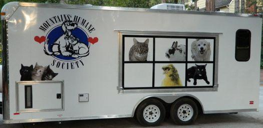 Custom Pet Adoption Millennium Trailer