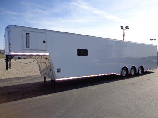 2020 44'  Icon Gooseneck Enclosed Race Car Trailer