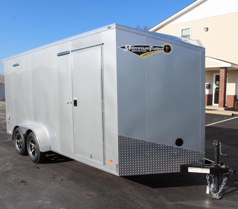 7'x16 Millennium Scout Enclosed Cargo Trailer
