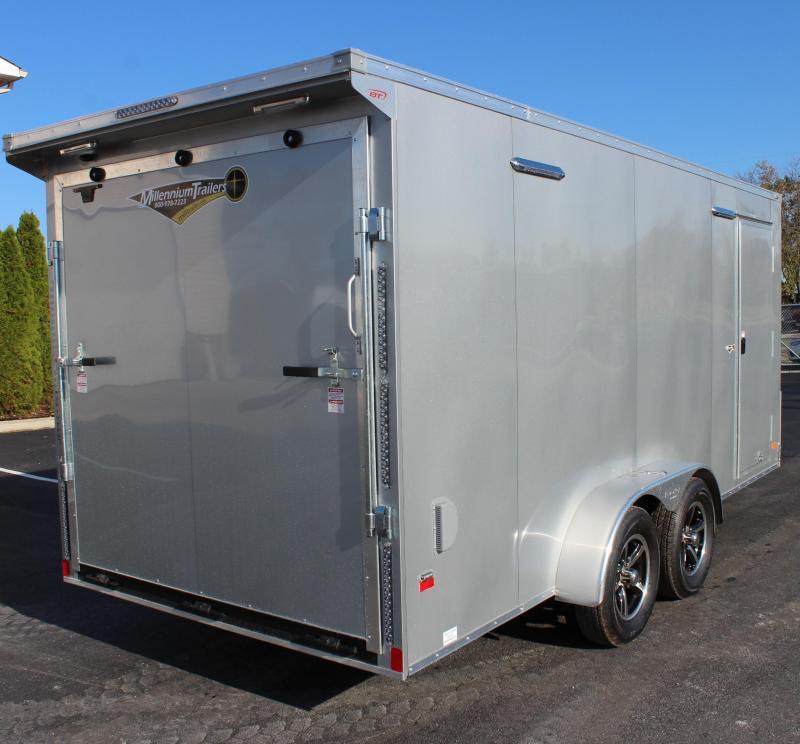 7'x16 Millennium Star Enclosed Cargo Trailer