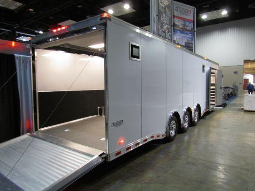 Custom 32' Icon Enclosed Race Car Trailer