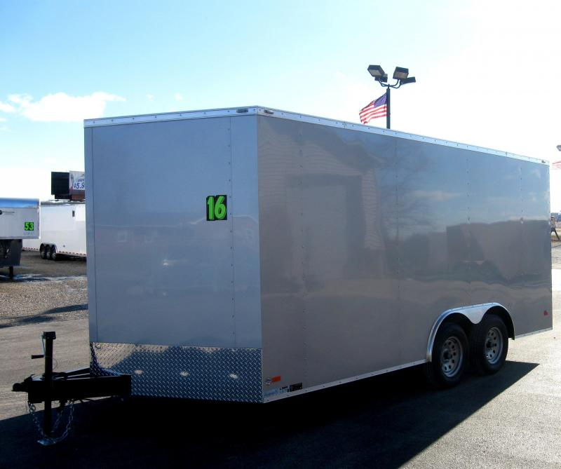 8.5' x 16' V-Nose Scout Enclosed Cargo Trailer