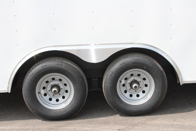 SALE PENDING  2021 20' Passport Heavy Duty Axles w/Ramp Door