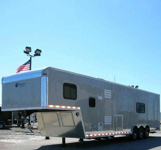36' Millennium Open Concept Living Quarter Trailer