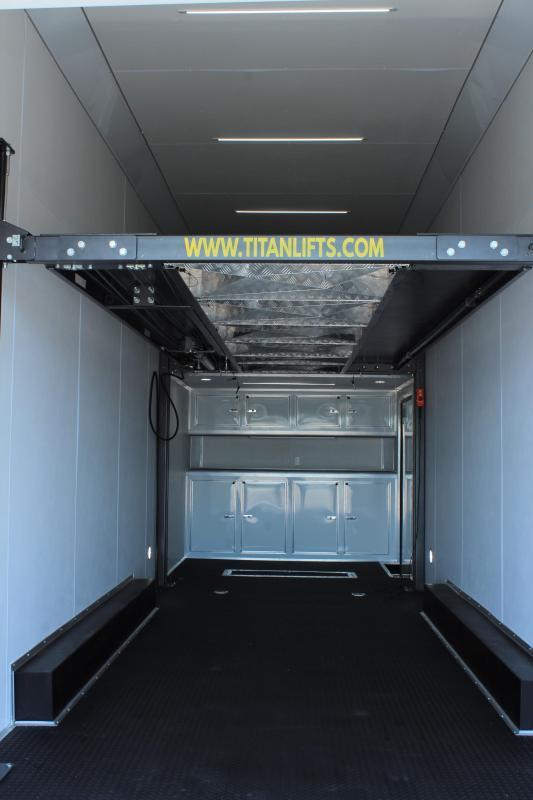 2021 30' Millennium Eliminator w/ 16' Titan Car Lift