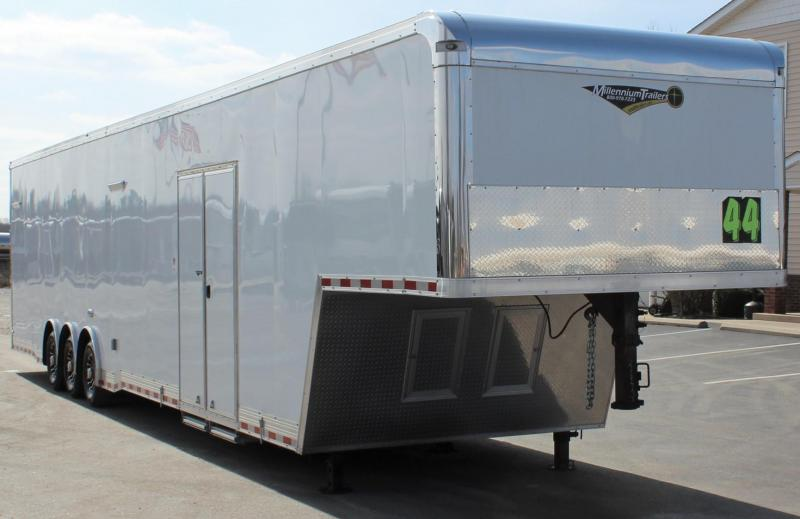 44'  Millennium Auto Master Gooseneck LOADED w/SUPER STOCK PKG!