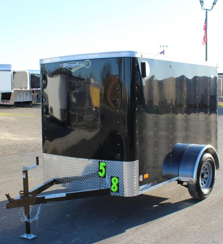 <b>NOW AVAILABLE</b> 2021 5'x8' Hero Enclosed Cargo Trailer