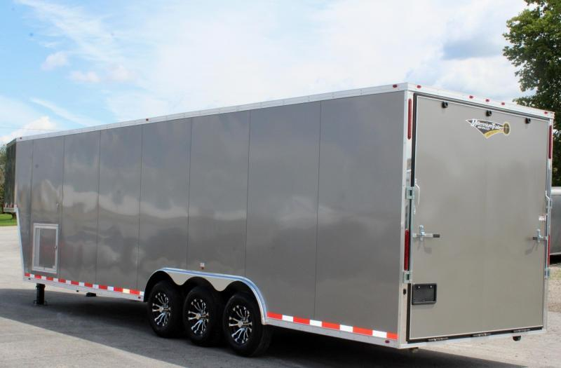 NOW AVAILABLE! 2020 36' Millennium Silver GN Pewter Screwless Exterior Loaded Out!
