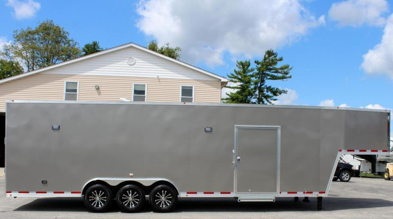 <b>Call to Order</b>  2022 36' Millennium Silver GN Pewter Screwless Exterior Loaded Out!