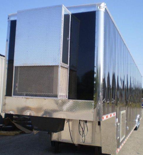 Custom 53' NASCAR Type Lift Gate Trailer