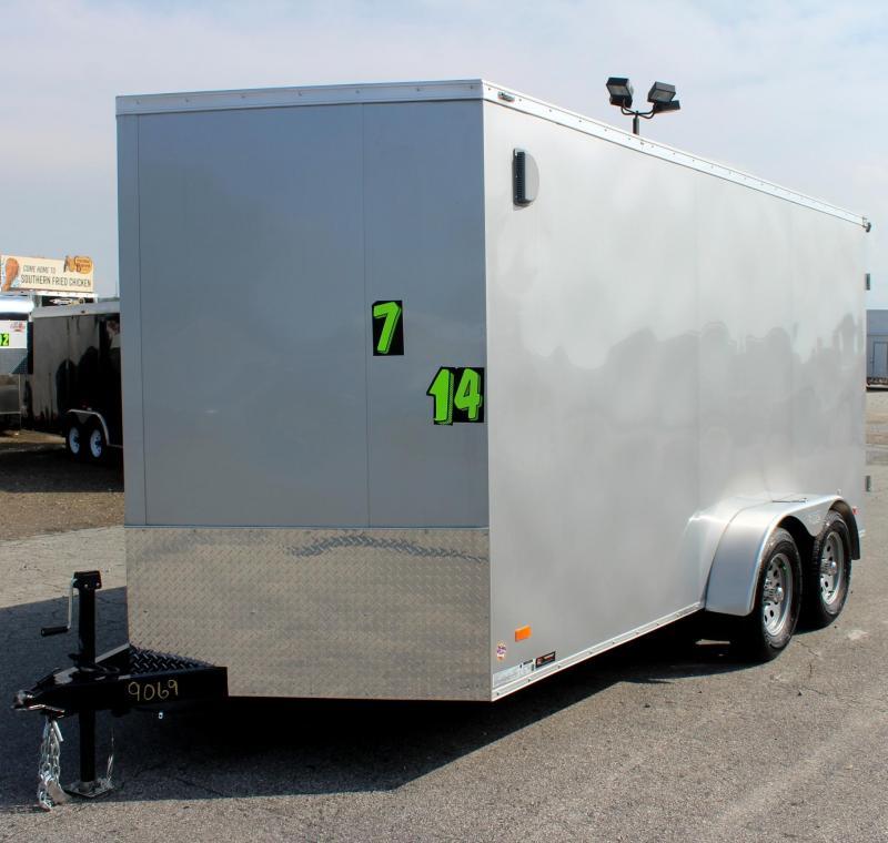 "<b>Double Rear Doors</b> 7' x 14' Scout Cargo w/Plus Pkg. 6"" Ext PLUS Free Upgrades"