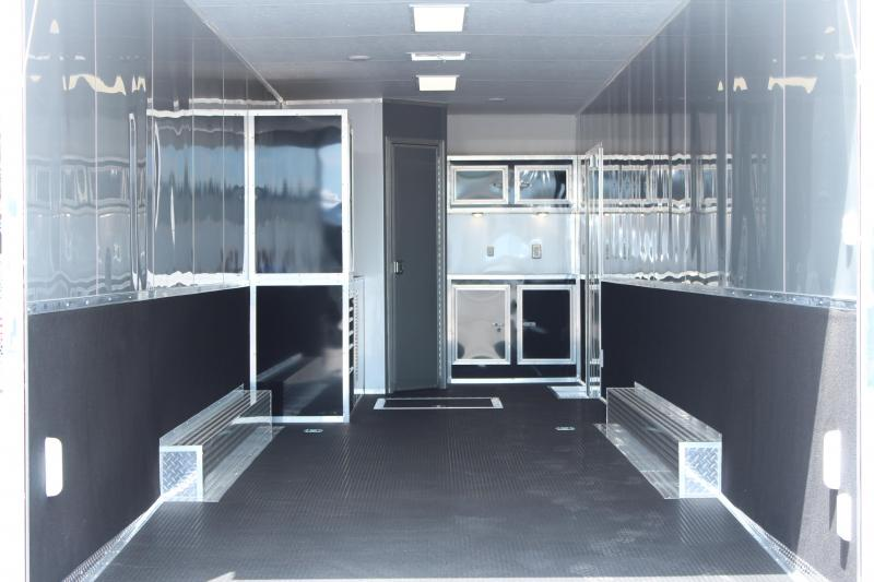 "<b>JUST ARRIVED</b> 2021 34' Millennium Platinum w/Full Bathroom 8' Beavertail/36"" Extension"