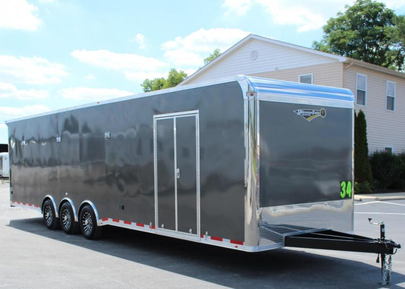 "2021 34' Millennium Platinum w/Full Bathroom 8' Beavertail/36"" Extension"