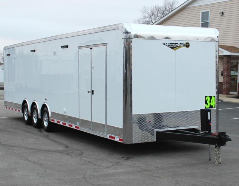 NOW AVAILABLE  2021 34' Loaded Millennium Automaster