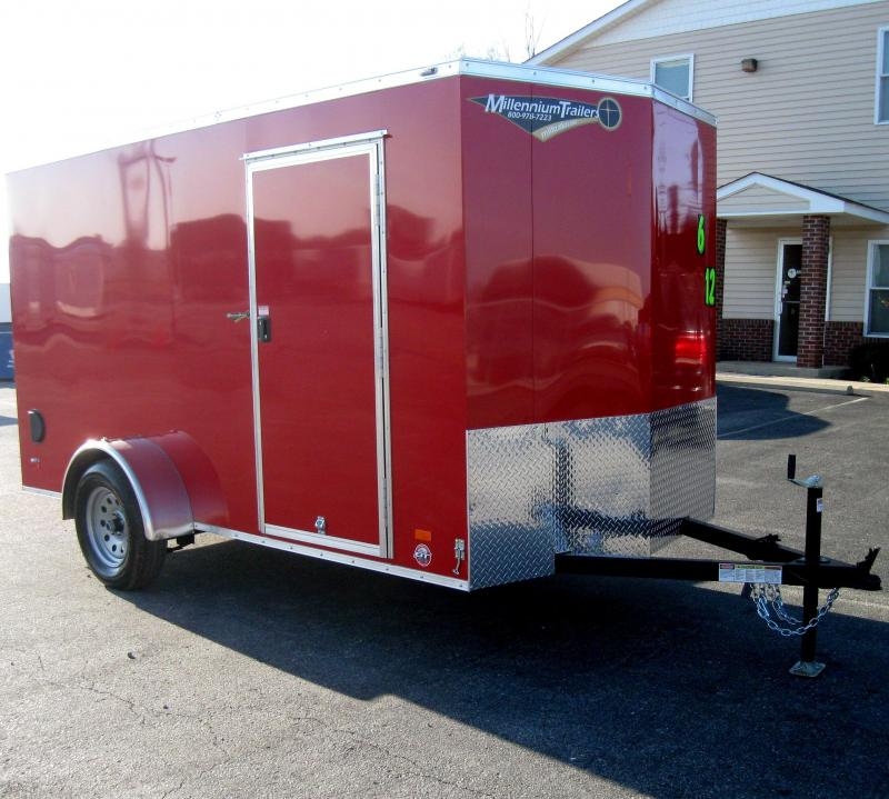 6'x12'  Scout Cargo Trailer Plus Pkg & Free Upgrades