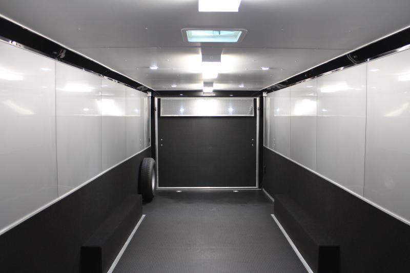 2021 28' Millennium Extreme Enclosed Trailer Rear Wing w/Spread Axles