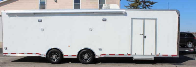 <b>SALE PENDING</b>  2021 30' Millennium Platinum Car Trailer Electric Awning & A/C + MORE
