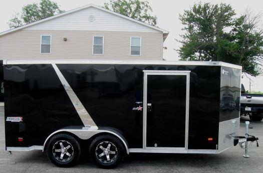 7'x14' Star Low Rider Motorcycle Enclosed Trailer