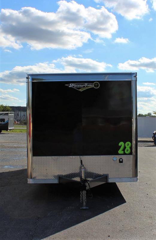 <b>NOW READY</b>  2022  28' Millennium Super Star Car Trailer w/Wing & Spread Axles