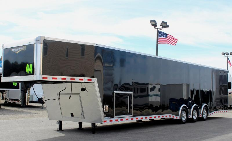 SOLD MAKING MORE! 44' Millennium Extreme Gooseneck w/Tapered Nose & Loaded Out!