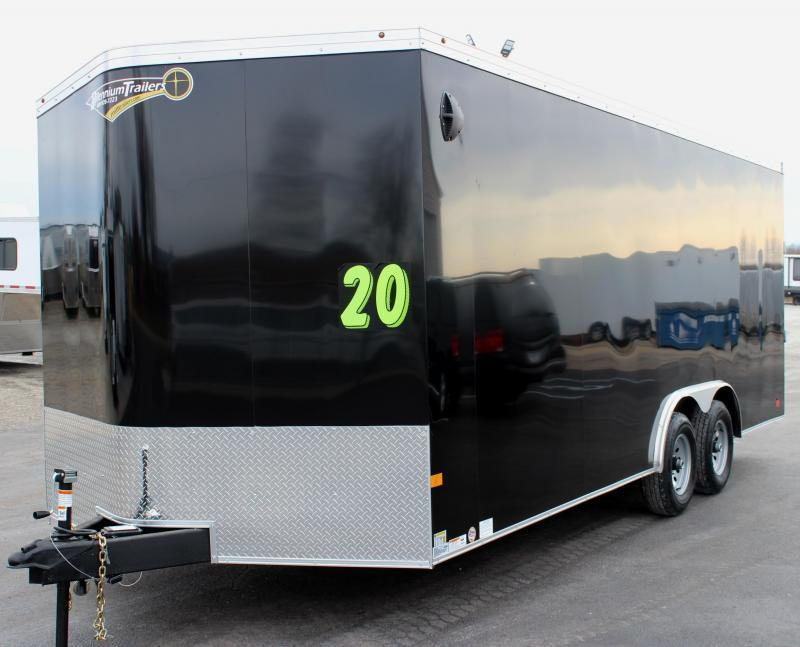 <b>SALE PENDING</b> READY LATE JUNE  2021 20' Transport V Car Trailer w/Heavy Duty 5200# Axles & Screwless Exterior 7' Interior