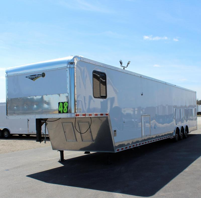 48' Millennium Auto Master w/Large Bathroom