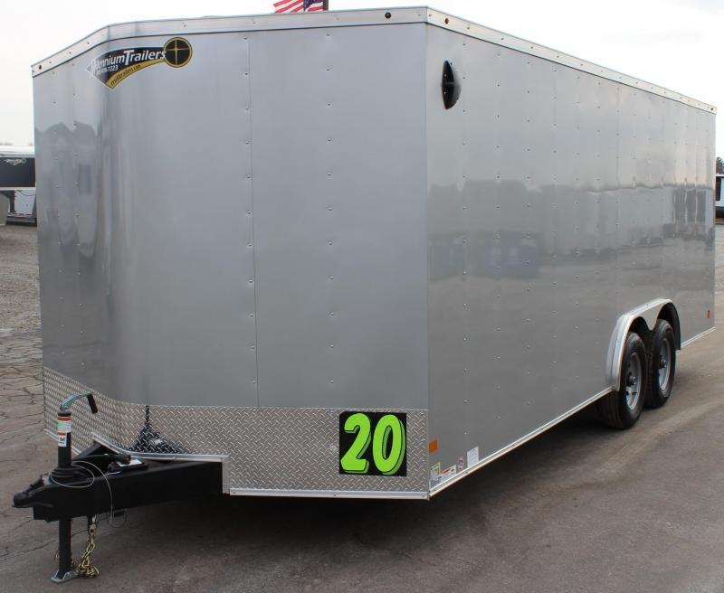 Easy on the Wallet 2021 20' Millennium Passport Enclosed Trailer w/Ramp Door
