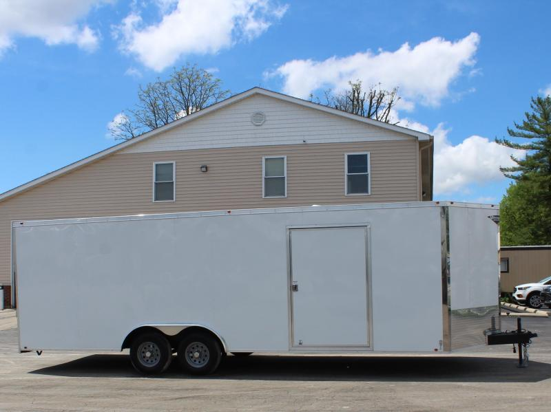 <b>ALL 2020's BLOW-OUT SALE</b>  NOW $9999 24' Millennium  Chrome Enclosed Trailer