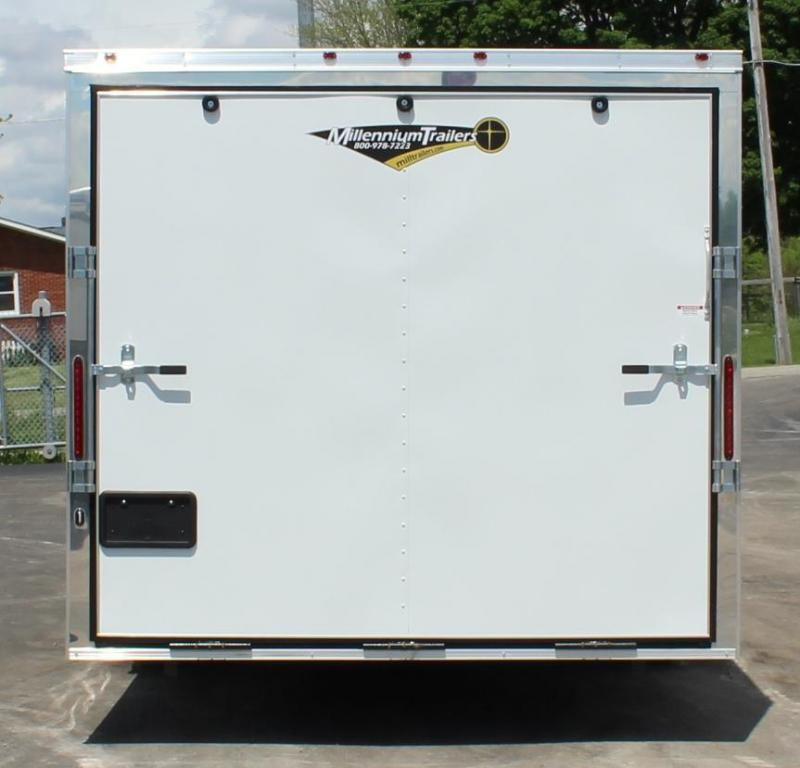 WEEKLY SPECIAL 24' Millennium  Chrome Enclosed Trailer