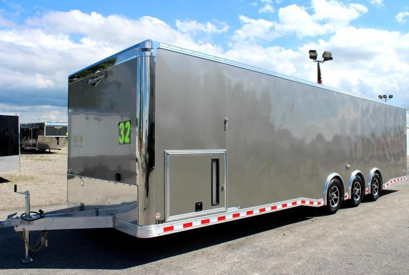 32' ALL ALUMINUM FRAME  Millennium Extreme Red Cabinets w/Wing