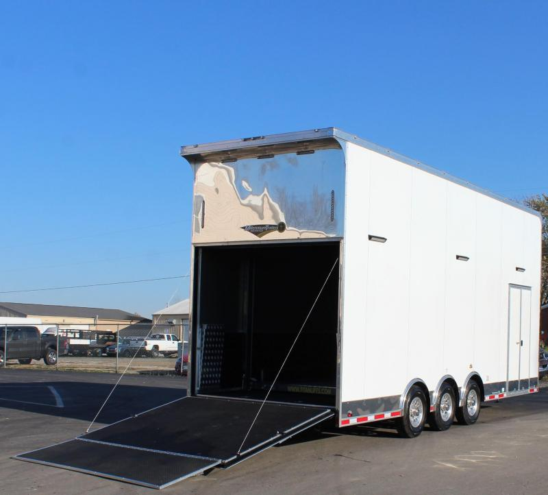 NOW READY 2021 26' Millennium Auto Master Stacker ALL DECKED OUT!