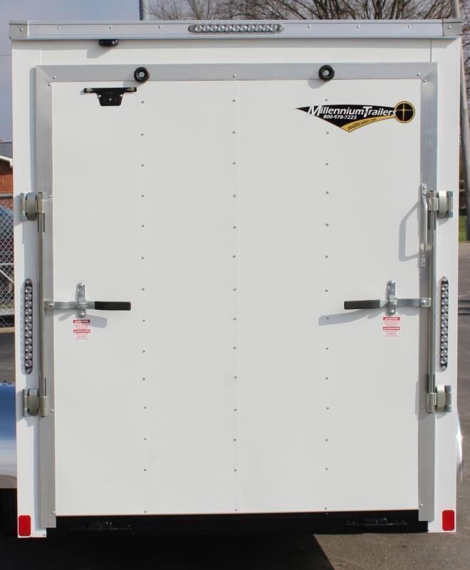 "<b>NOW AVAILABLE</b>  6'x12' Hero Enclosed Cargo Trailer Ramp Door &  6"" Extra High"