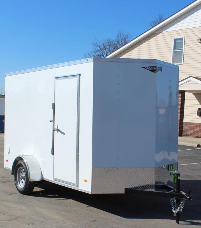 NOW AVAILABLE  6'x12' Hero Enclosed Cargo Trailer Ramp Door &  6