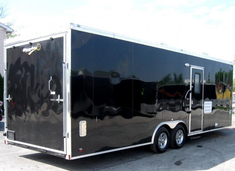 26' Millennium Auto Master Enclosed Trailer Toy Hauler w/Living Quarters