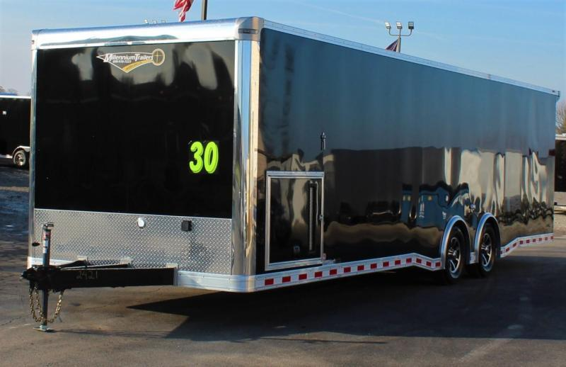 <b>SALE PENDING</b> 2021  30' Millennium Extreme Wing/Finished Interior/Spread Axles & More!