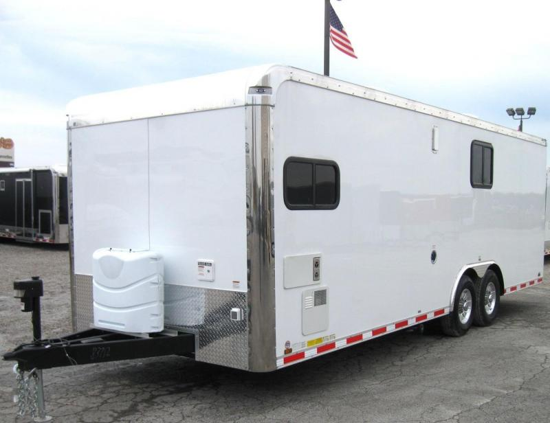 24'  Millennium Auto Master with Living Quarters Diamond Ice Cabinets