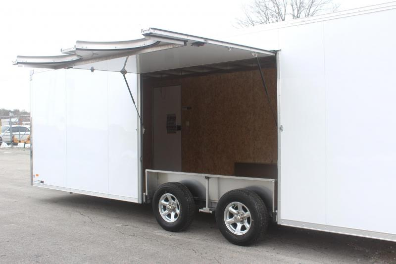 EXTREME LITE LOW PRICE ALL ALUM FRAME 24' Millennium Extreme Lite Car / Racing Trailer
