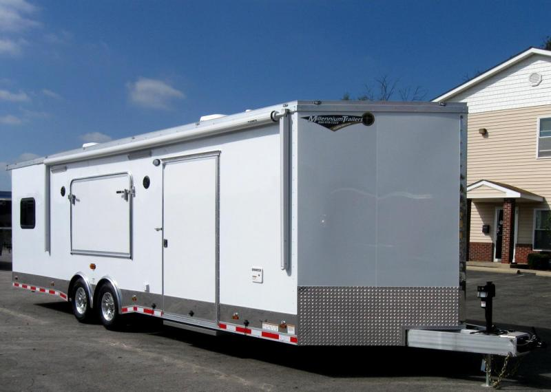 28' Millennium Custom Toy Hauler/Living Quarter